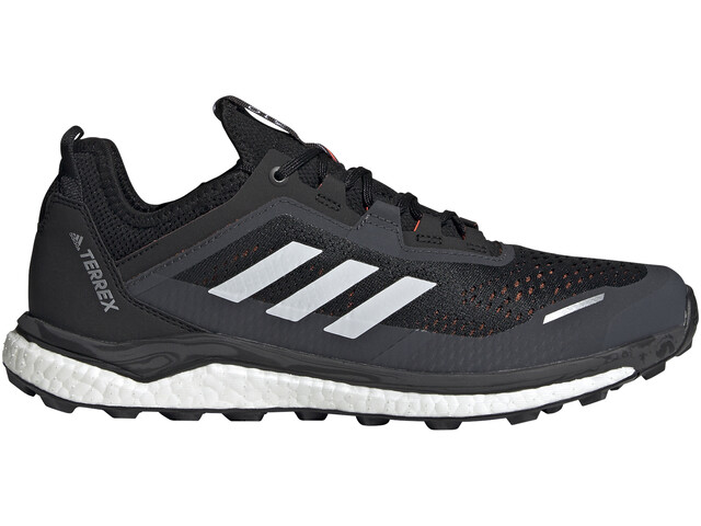 adidas TERREX Agravic Flow Trail Running Shoes Men, core black/crystal white/solar red